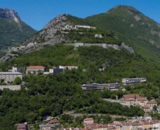 Le site de la Bastille retenu pour le concours Europan 16. © Ville de Grenoble