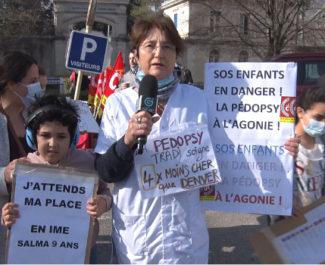 Anne Enot, pédopsychiatre au CHAI de Saint-Égrève. © Joël Kermabon - Place Gre'net