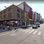 Angle de la rue Marceau et Augereau. Google street view