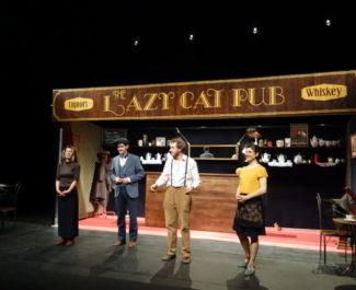 """Comédiens du spectacle """"Prohibition"""""""