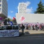 Mobilisation jeudi 7 avril 2021. © Tim Buisson – Place Gre'net