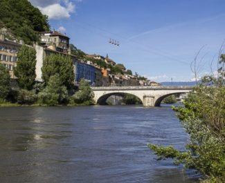 Fin des travaux hydrauliques: Grenoble et l'Isère protégées des grandes crues?