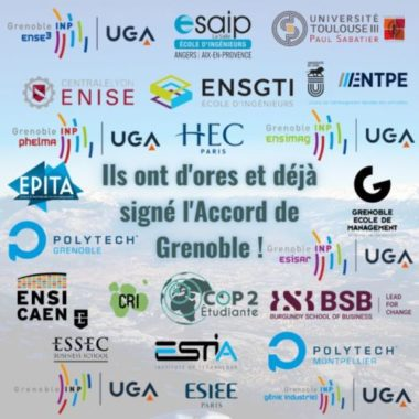 Signataires de l'Accord de Grenoble