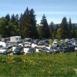 Le parking de la Molière © Parc du Vercors