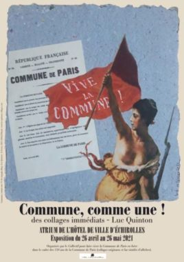 Affiche exposition Commune, comme une !