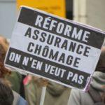 Nouvelle manifestation contre la réforme de l'assurance-chômage à Grenoble le 23 avril