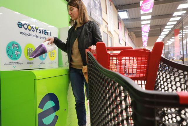 Ecosystem incite chacun à réparer, donner... ou recycler en dernier ressort © Ecosystem