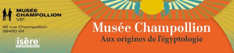 Ouverture du musée Champollion à Vif en Isère