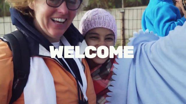 """La campagne """"A welcoming Europe"""" se décline sur les réseaux sociaux ainsi que sur YouTube © Capture d'écran - Greens-EFA"""