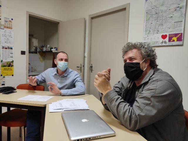 """Guy Waltisperger et Bruno de Lescure dénoncent une """"refonte de la démocratie locale en toute opacité"""" © Florent Mathieu - Place Gre'net"""