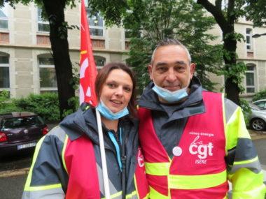 Laurie Géronimo et Didier Balmand. © Tim Buisson – Place Gre'net