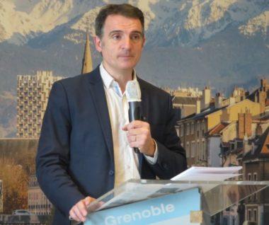 Le maire de Grenoble Eric Piolle. © Tim Buisson – Place Gre'net