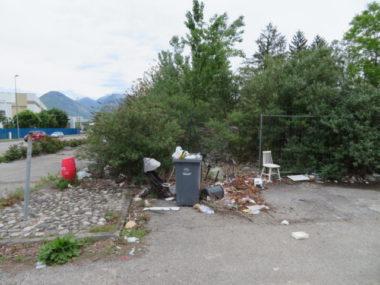 L'entrée du site Esmonin au sud de Grenoble.© Tim Buisson – Place Gre'net