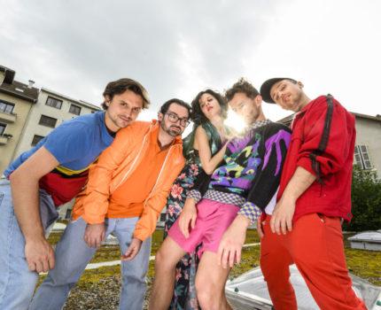 Le groupe grenoblois Lamuzgueule serait en concert-live le 13 mai à l'Ilyade. © Lamuzgueule