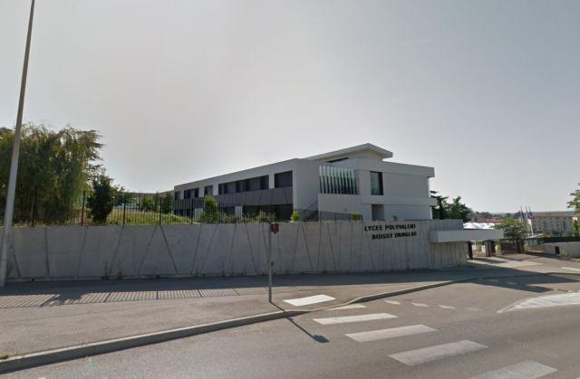 Lycée Boissy-d'Anglas à Annonay © Google Maps