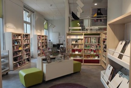 La bibliothèque jeunesse du Jardin de ville de Grenoble rouvre après travaux mardi 23 février