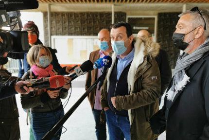 Fabien Vanhemelryck, Fabien Vanhemelryck, le secrétaire général d'Alliance police nationale. © Joël Kermabon - Place Gre'net