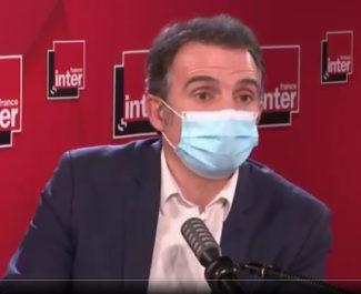 Éric Piolle lors de son interview sur France Inter ce 3 février 2021. Copie d'écran