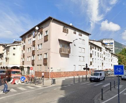 Vue d'une partie du quartier de l'Alma à Grenoble. DR