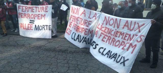 """La Région s'engage à """"sauver Ferropem"""" de la fermeture annoncée de ses sites en Isère et en Savoie"""
