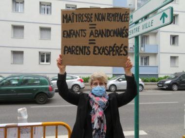Grenoble : une classe sans maîtresse à l'école Jules Ferry