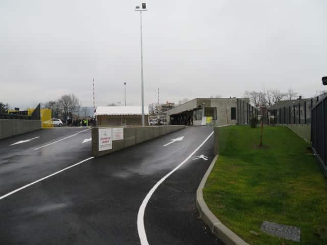 La nouvelle déchèterie d'Echirolles a été inaugurée mardi 2 février 2021. © Tim Buisson – Place Gre'net