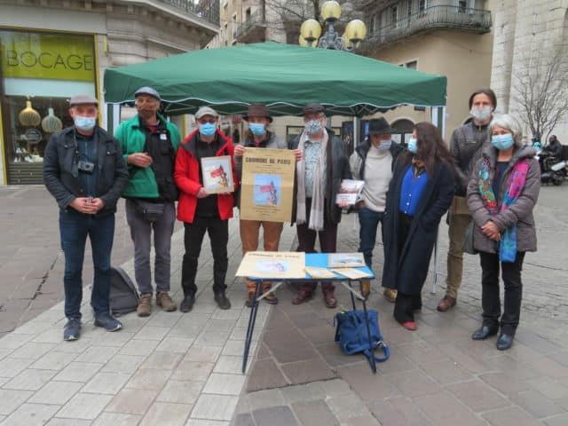 Un collectif a organisé une série d'évènements pour célébrer les 150 ans de la commune de Paris. © Tim Buisson – Place Gre'net