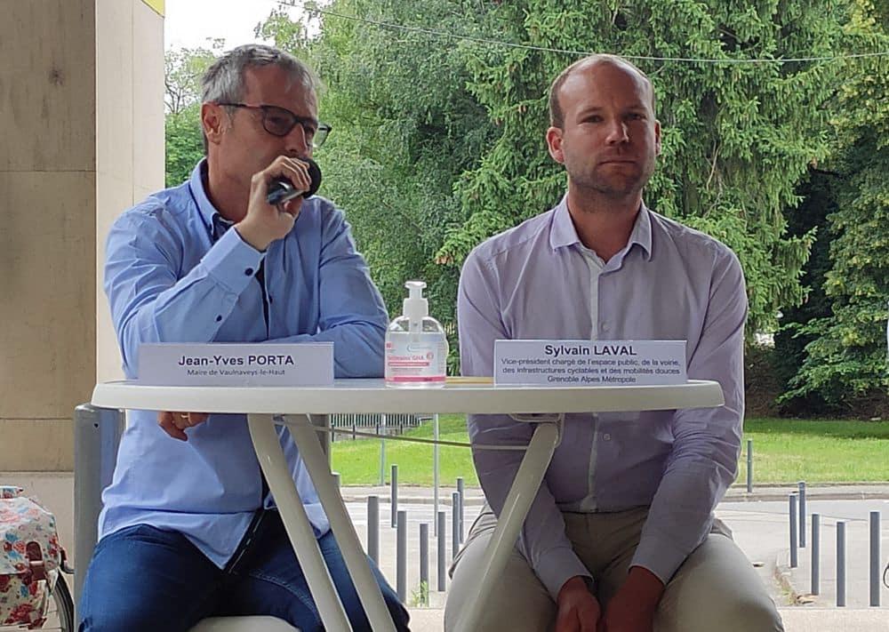 Jean-Yves Porta et Sylvain Laval © Florent Mathieu - Place Gre'net