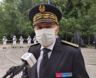 Une cérémonie aux Morts pour la prise de fonctions du nouveau préfet de l'Isère Laurent Prévost