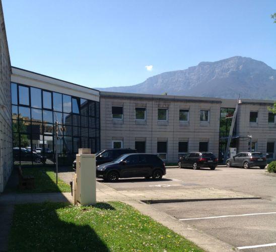 Les futurs locaux de l'école Hexagone de Grenoble, et plus précisément rue des Tropiques à Échirolles © Hexagone