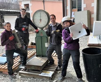 """Une """"matériauthèque"""" ouverte jusqu'en juillet sur le site du Cadran solaire à La Tronche"""