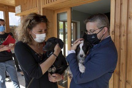 Fin des travaux de réhabilitation de la fourrière et du refuge animal du Versoud