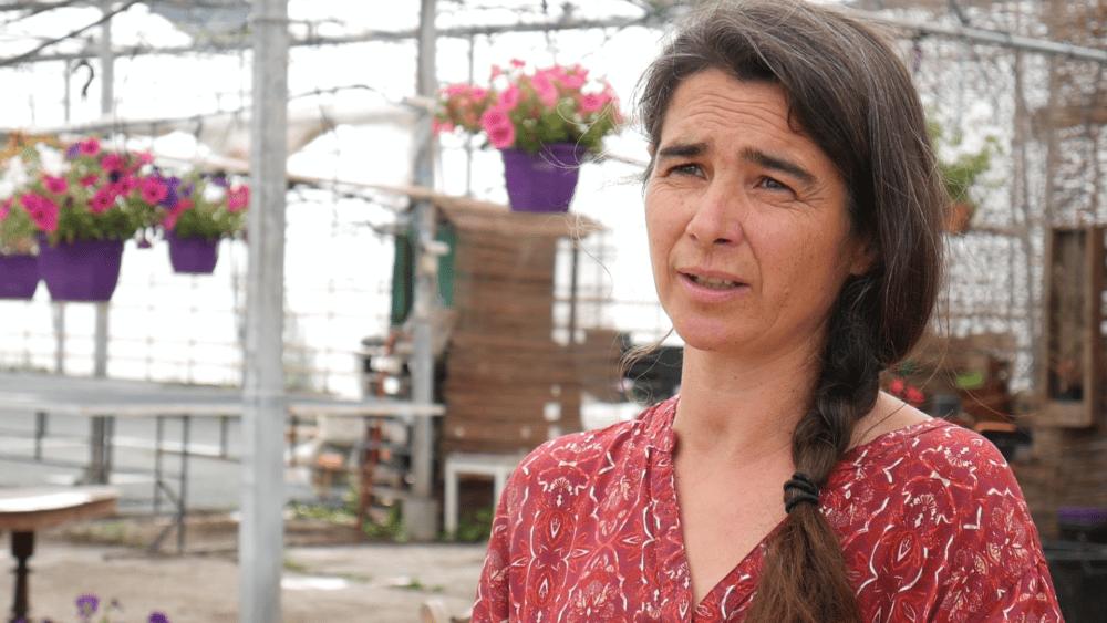 Anne-Sophie Rouveure, propriétaire des jardins de Malissoles