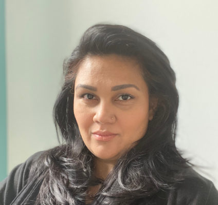Shella Gill, tête de liste du mouvement Union essentielle. © Union essentielle