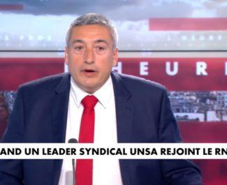 L'isérois Stéphane Blanchon, secrétaire général de l'Unsa, se rallie au candidat RN pour les régionales