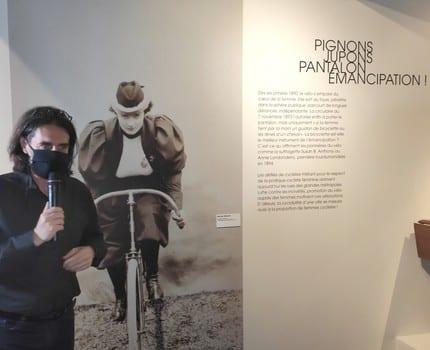 Du vélo au Sénégal, deux expositions présentées au Musée Dauphinois à l'occasion de sa réouverture