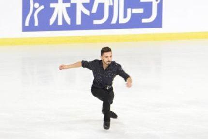 Une Kevin Aymoz patinage artistique
