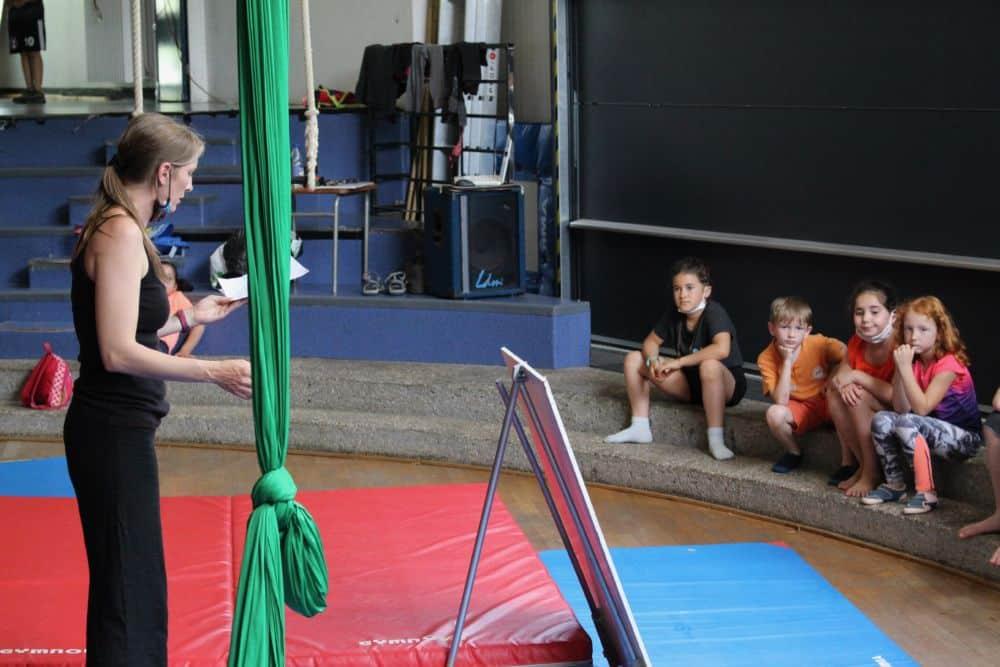 L'activité cirque de la MJC Bulles d'Hères a connu ses derniers moments dans la salle Romain-Rolland de Saint-Martin d'Hères samedi 19 juin © Bulles d'Hères