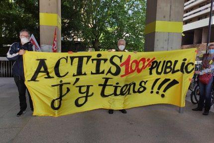 Le Collectif contre la privatisation d'Actis maintient la pression et se tourne vers le tribunal administratif