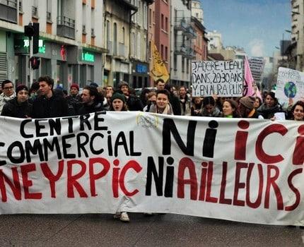 """Le promoteur Apsys débouté de sa plainte pour """"recours abusif"""" contre cinq militants anti-Neyrpic"""