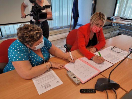 Signature contrat territorial jeunesse de l'agglomération grenobloise