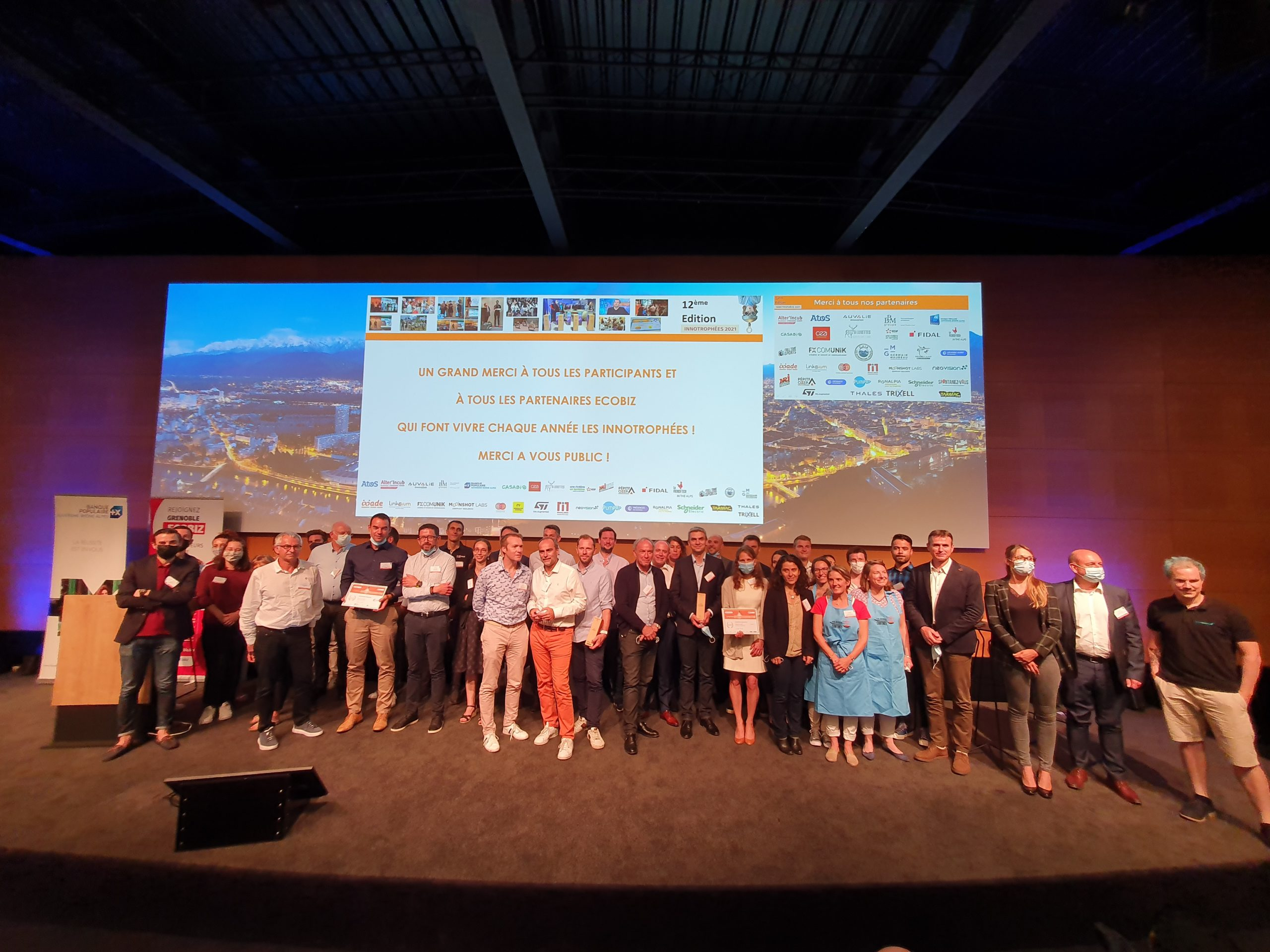 Trophées de l'innovation : cinq entreprises récompensées
