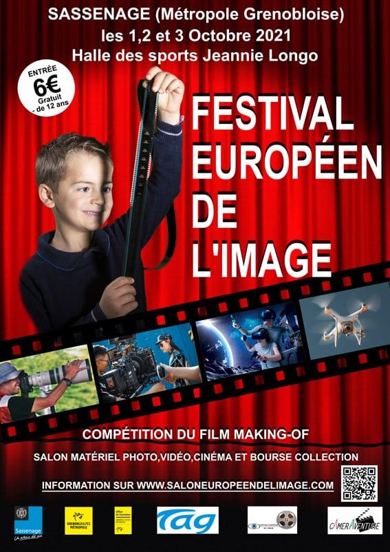 Affiche Salon 2021 (c) festival européen de l'image