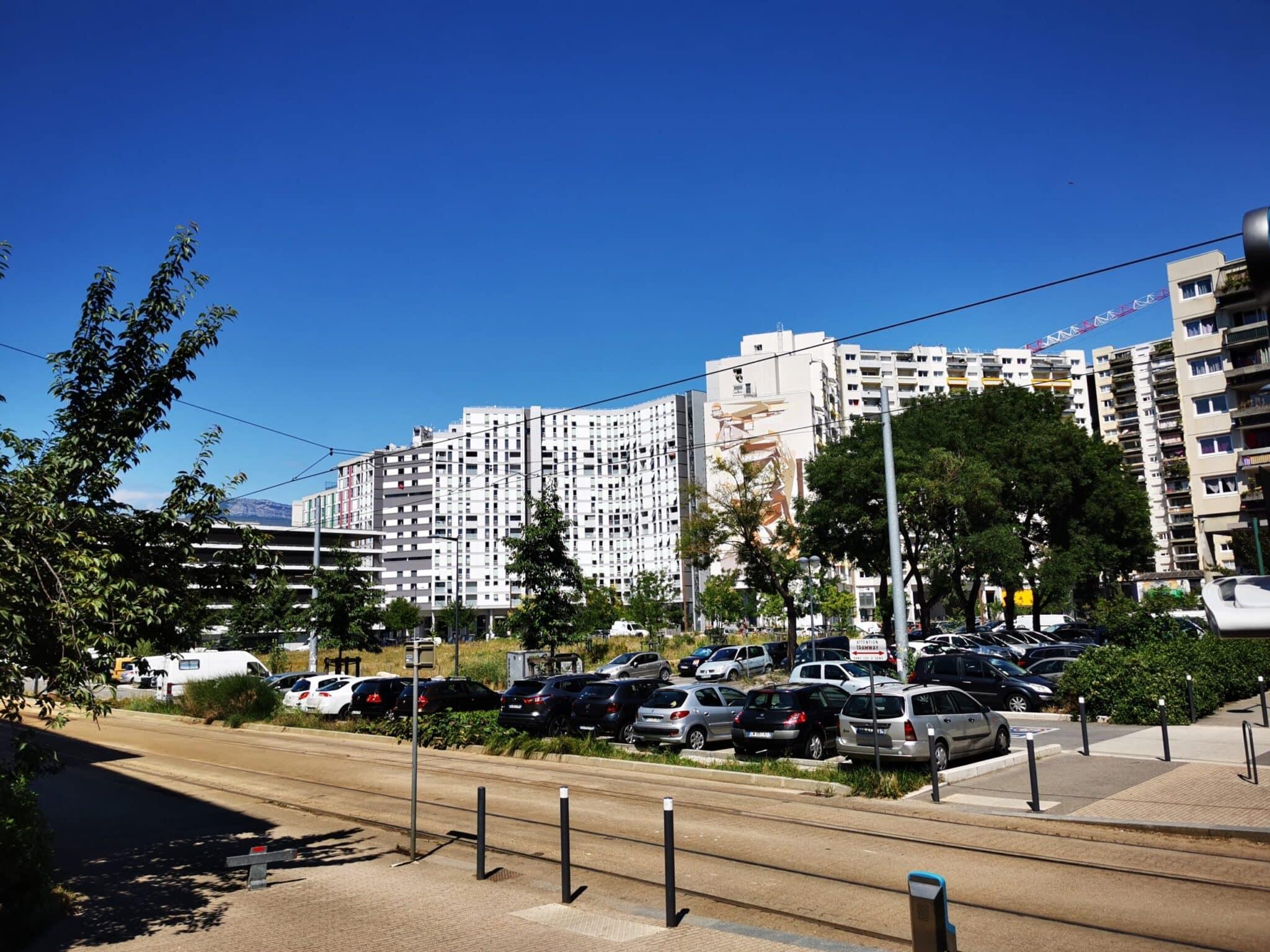 Quartier de l'Arlequin à Grenoble. © Joël Kermabon - Place Gre'net