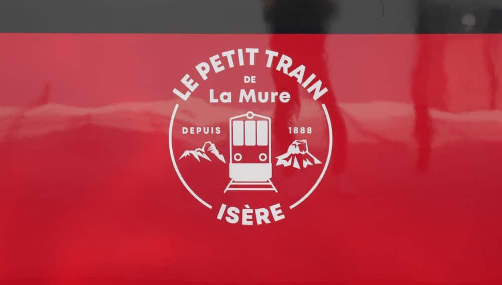 Logo du petit train de la Mure lors de son lancement le 20 juillet 2021 (c) Ilan Khalifa--Delclos | Place Gre'net