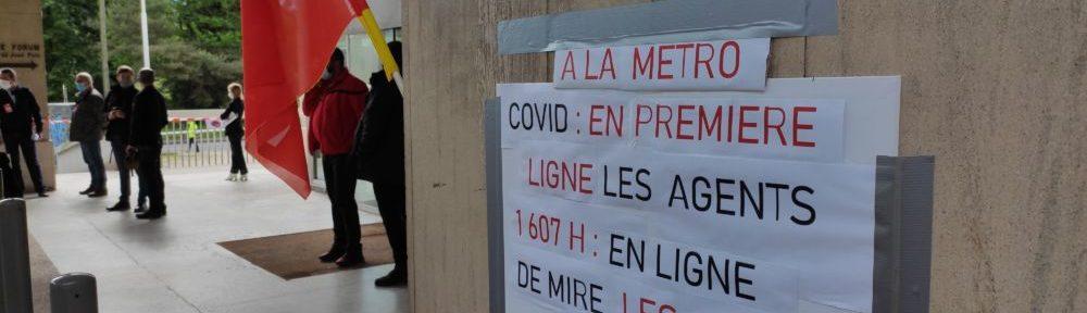 Bras-de-fer entre Métropole et syndicats sur le passage aux 1607 heures annuelles pour les agents