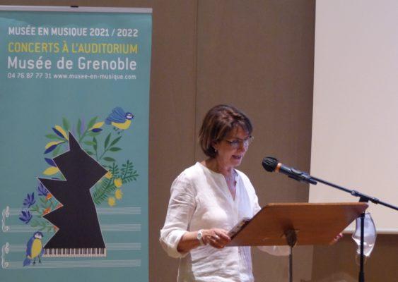 Auditorium de Grenoble : Musée en musique, 2 juillet 2021. © Emma Venancie - Place Gre'net