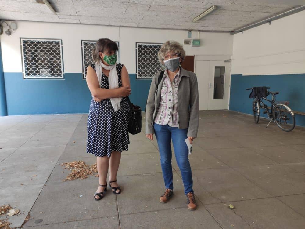 Kheira Capdepon et Christine Garnier © Florent Mathieu - Place Gre'net