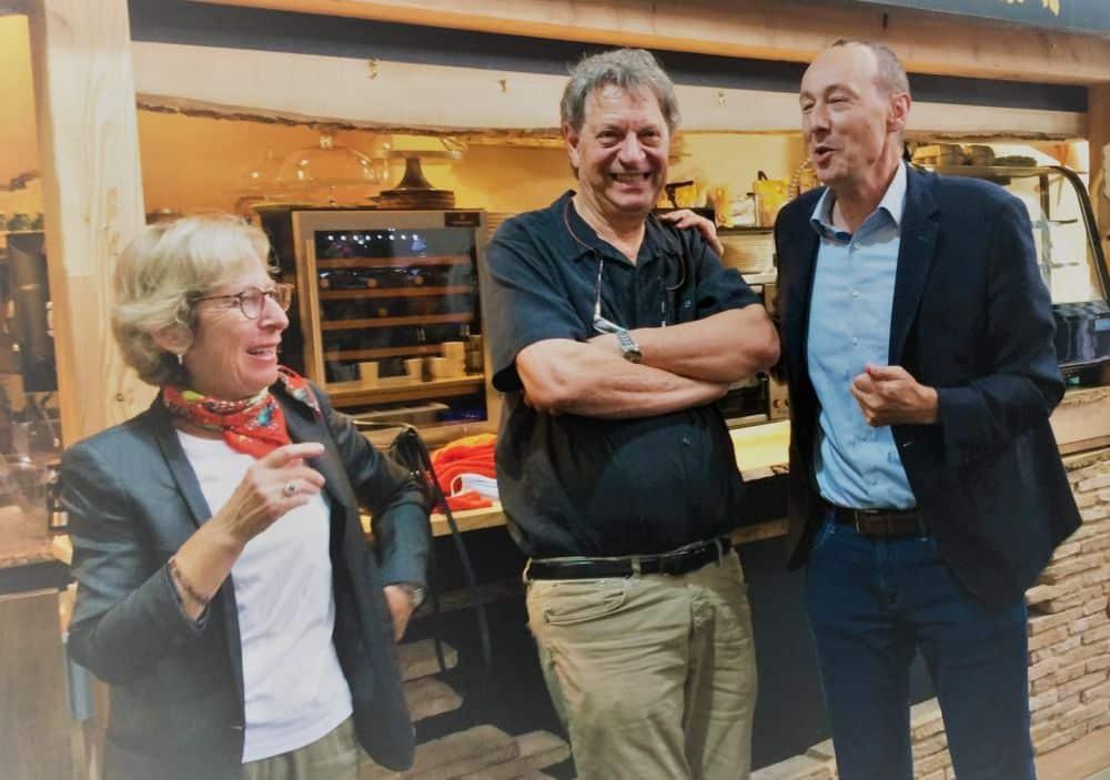 Emmanuel Lenoir succède à Christian Hoffmann à la présidence de l'association de commerçants Label Ville