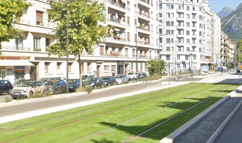 Cours de la Libération à Grenoble © Google Maps